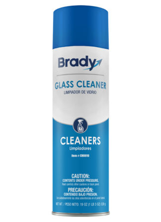 Brady Glass Cleaner Aerosol