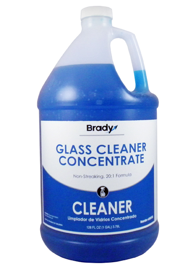 Brady Glass Cleaner Concentrate