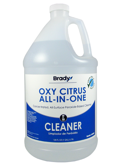 Brady Oxy Citrus Concentrate Impact Cleaning