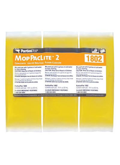 PortionPac Mop PacLite 1802