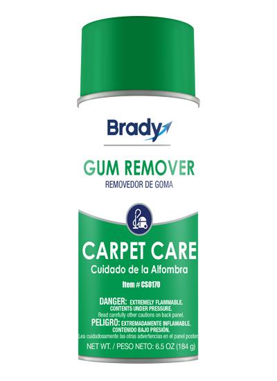 Brady Aerosol Gum Remover