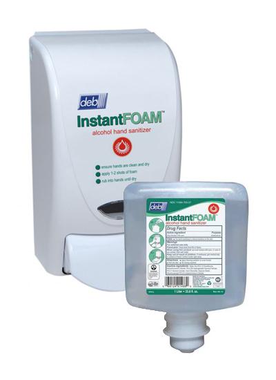 DEB InstantFOAM Alcohol Hand Sanitizer - Liter