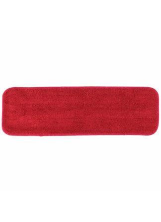 Microfiber Flat Mop Pad 18 Red
