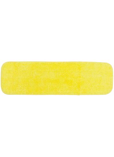 Microfiber Flat Mop Pad 18 Yellow