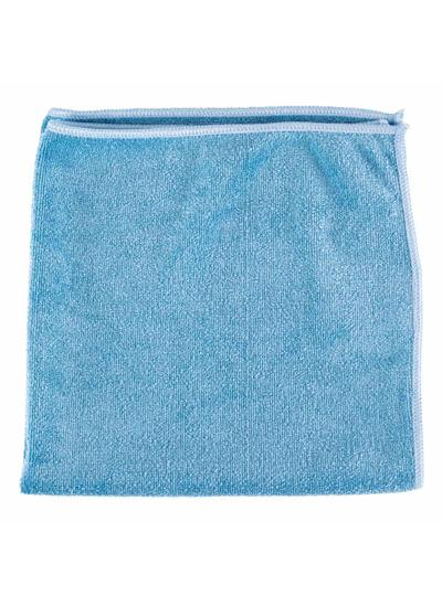 Microfiber General Purpose Cloth Blue 16X16 10PK