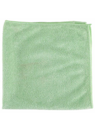 Microfiber General Purpose Cloth Green 16X16 10PK