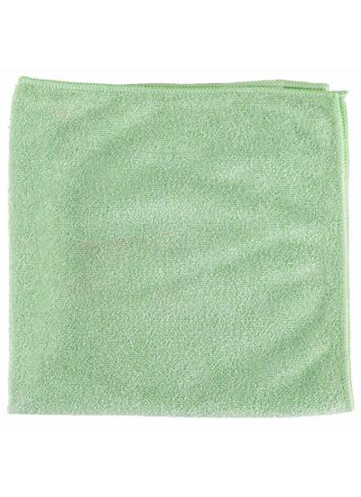 Microfiber General Purpose Cloth Green 16X16 10PK