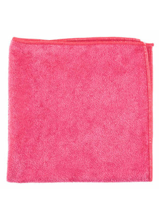 Microfiber General Purpose Cloth Red 16X16 10PK