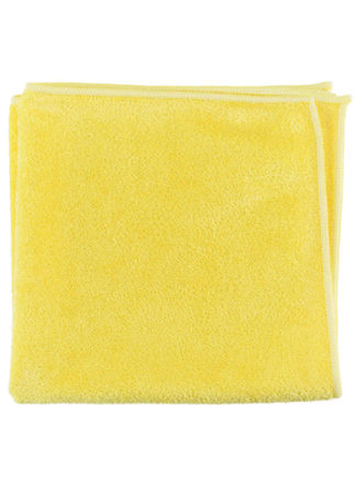 Microfiber General Purpose Cloth Yellow 16X16 10PK