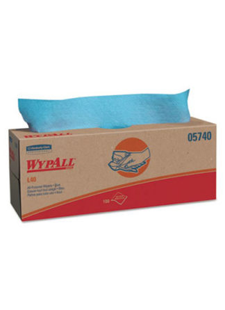 Wypall Wiper POP UP Box 100 Blue Sheets Box