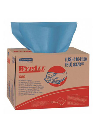 Wypall X80 Wipers BRAG Box 160 Blue Sheets